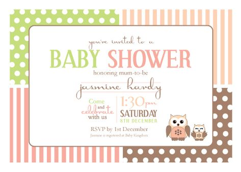 Create Own Baby Shower E Invitations Templates Party Invites Are Very Important Since It Is Your Most Important Strategy For Speaking All The Necess Create