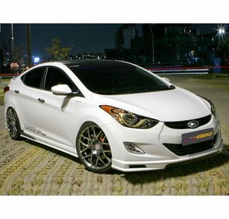 2011 2013 Hyundai Elantra Md Sequence Body Kit Complete Lip Kit 4 Pcs Hyundai Elantra Elantra Hyundai