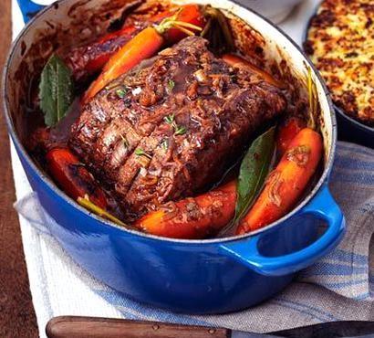 Pot Roast Beef With French Onion Gravy Recipe On Yummly Yummly Recipe In 2020 Bbc Good Food Recipes Healthy Beef Recipes Sunday Roast Dinner