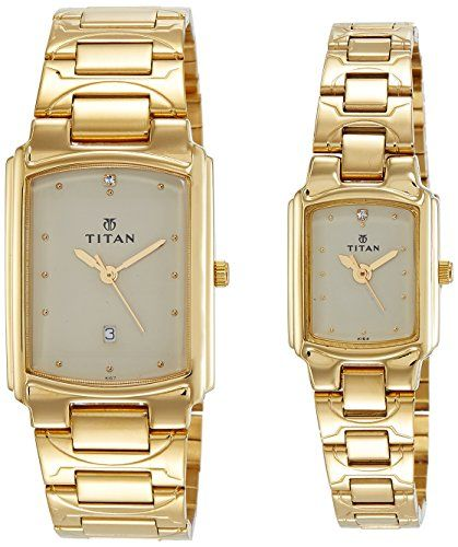 Couple Watches Branded Titan