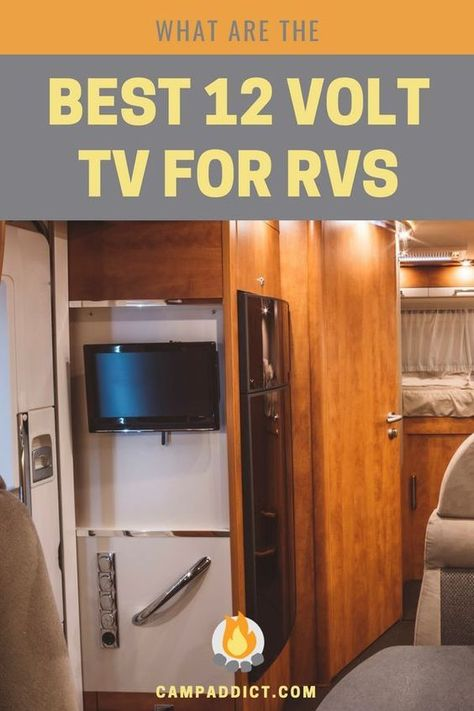 12 Volt Rv Tvs The Best Reviews Online Rv Tv Camping Essentials Camping Equipment