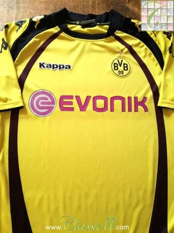 2009 10 Borussia Dortmund Home Football Shirt L Borussia Dortmund Dortmund Football Shirts