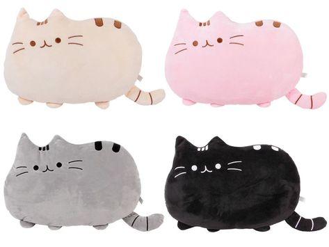 Pluschtier Katze Emoticon Kissen Anime Deko Kissen Kuscheltier 40