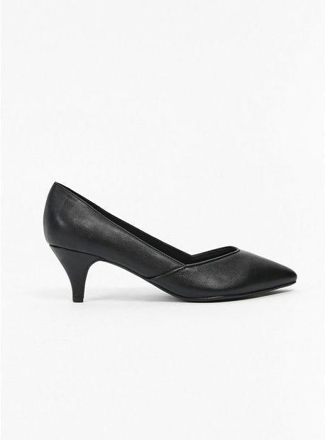Extra Wide Fit Black Kitten Heel Court Shoes Kittenheelshoes Black Kitten Heels Kitten Heel Shoes Kitten Heels