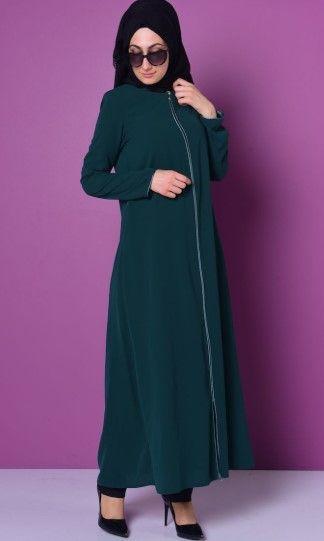 Sefamerve Tesettur Elbise Modelleri Yeni Kreasyon 2018 Moda Model Elbise Modelleri Elbise Moda