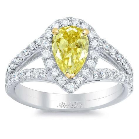 70 Best Yellow Diamond Engagement Rings Ideas Engagement Rings Yellow Diamond Diamond Engagement Rings