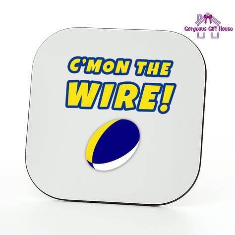 C'mon The Wire Coaster – Rugby Fan Gift