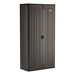 Suncast Commercial Mega Tall Storage Cabinet 4 Shelves