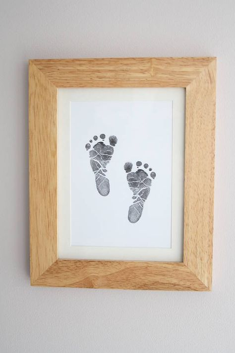 baby hand and foot inkless print kit by elizabeth jane | notonthehighstreet.com