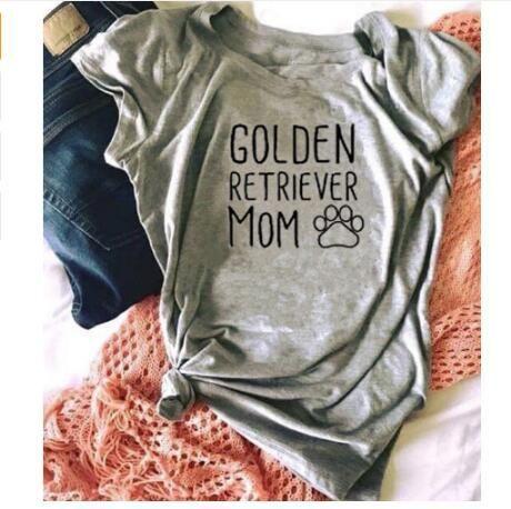 Golden Retriever Mom T Shirt Dog Mom Shirt Dog Mom