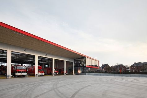 Firestation For The City Of Puurs Compagnie O Architects