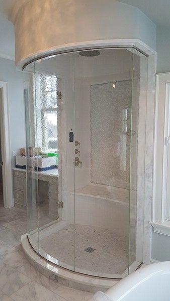 Curved Frameless Shower Door Shower Doors Glass Shower Glass