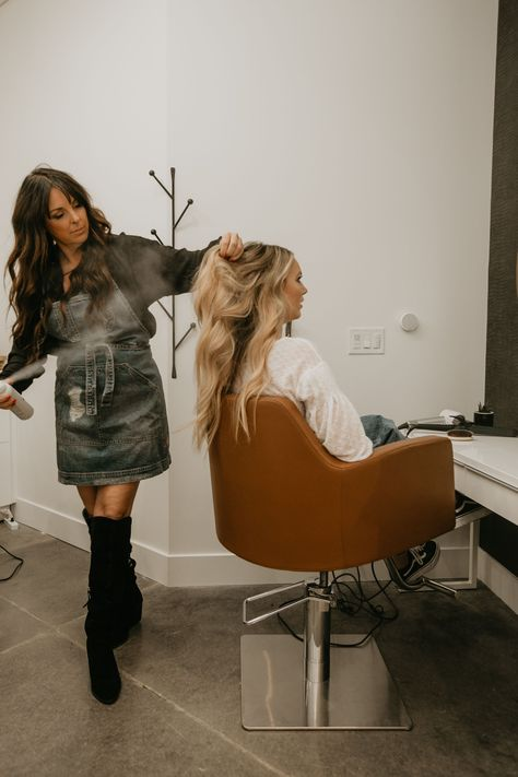 a unique hair studio in Gilbert, Arizona with luxury services designed to cater to your hair needs and dreams. run by powerful ladies, for powerful ladies. Hair Salon Pictures, Kids Hair Salon, Beauty Lounge, Hair Quotes, Hair Brained, Creative Hairstyles, Hair Studio, Vintage Hairdresser, Style Me