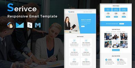Service — Multipurpose Responsive Email Template | Stylelib