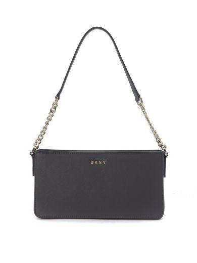 DKNY Borsa A Tracolla Small Dkny In Pelle Grigia. #dkny #bags # #