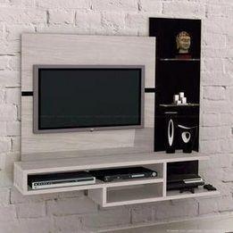 85 Creative Simple Tv Wall Decor Idea For Living Room Design Tv Room Design Tv Unit Furniture Design Lcd Panel Design