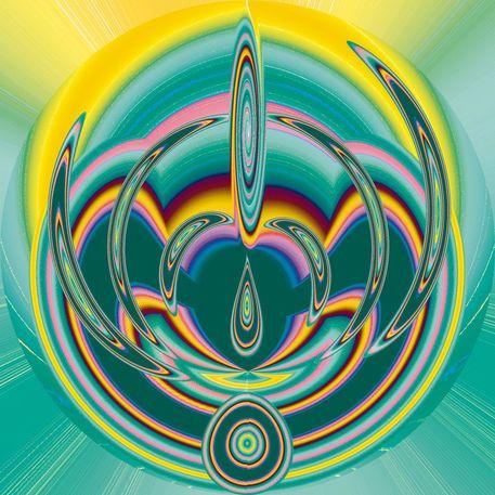 'Weltfrieden - Nr. 30' von Margarete Zängerlein bei artflakes.com als Poster oder Kunstdruck $16.63