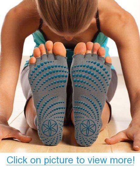 2X PK Echo Yoga Socks Fitness Grip Dance Sport Exercise Non Slip Rubber Pilates