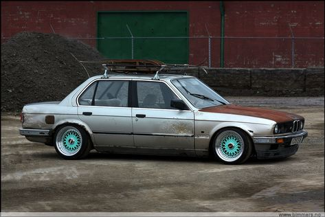 BMW Rusted