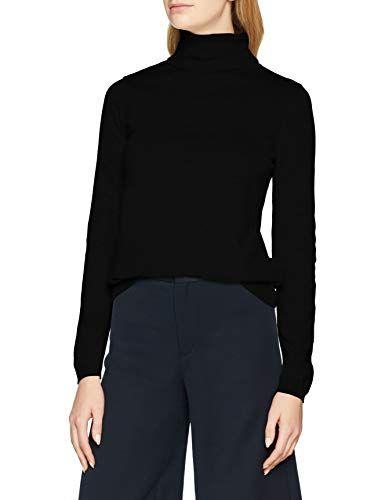 finest selection 4516d 68fb9 More & More Damen Rollkragenpullover Pullover Schwarz (Black ...