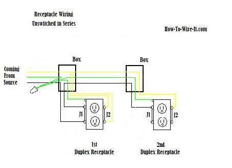Receptacle Wiring In Series Diagram Cool ideas Pinterest – Diagram Timer Wiring Switch 8546681c