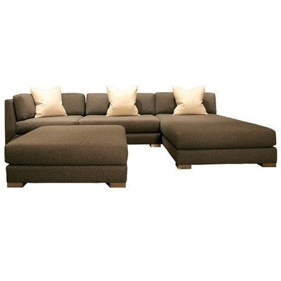Manhattan Sectional Sofa By Donghia Sectional Sofa Exclusive