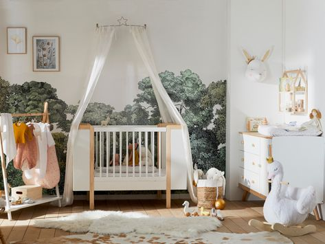 Une chambre bébé neutre et stylée - JOLI PLACE