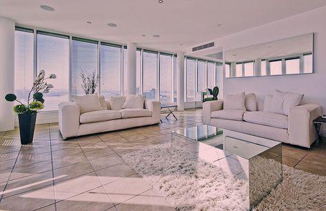 Moderne Wohnzimmergestaltung Bild Von Lea Styppa Auf Fliesen In
