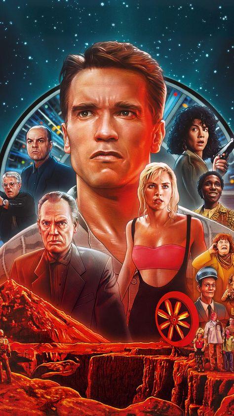 Total Recall (1990) Phone Wallpaper | Moviemania