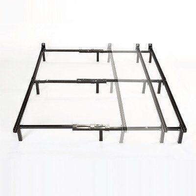 Bed Frame Steel Center Support Legs Adjustable Twin Full Queen