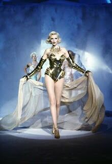 Nadja Auermann for Thierry Mugler Haute Couture