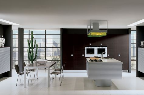 Ernestomeda Barrique. Cucine #Cucine #Kitchen #Kitchens #Modern