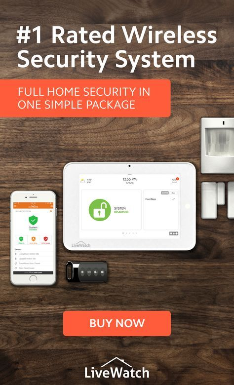 1 Rated Wireless Security System Wireless Security System Wireless Home Security Systems Security Cameras For Home