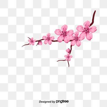 Cherry Vector Vector Petals Cherry Blossoms Cherry Petals Petal Elements Petals Vector