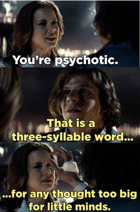 He's basically a human dictionary.