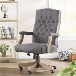 Wurthing High Back Executive Chair Home Office Chairs Tufted