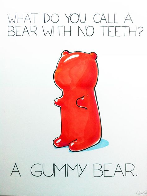 Hahahhaha for some reason this made me laugh way too hard. I am a gummy bear fiend!