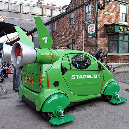 Starbug Smart Car Red Dwarf Smart Car Accessories Pinterest