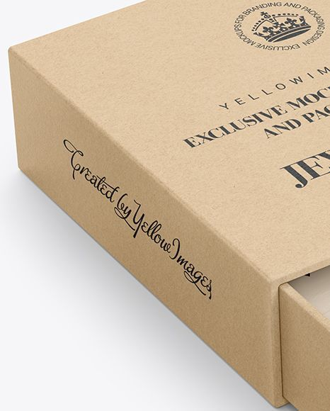 Download Opened Kraft Box Mockup Present Your Design On This Mockup Includes Special Layers And Smart Objects For Your Creative Box Mockup Kraft Boxes Free Stationery