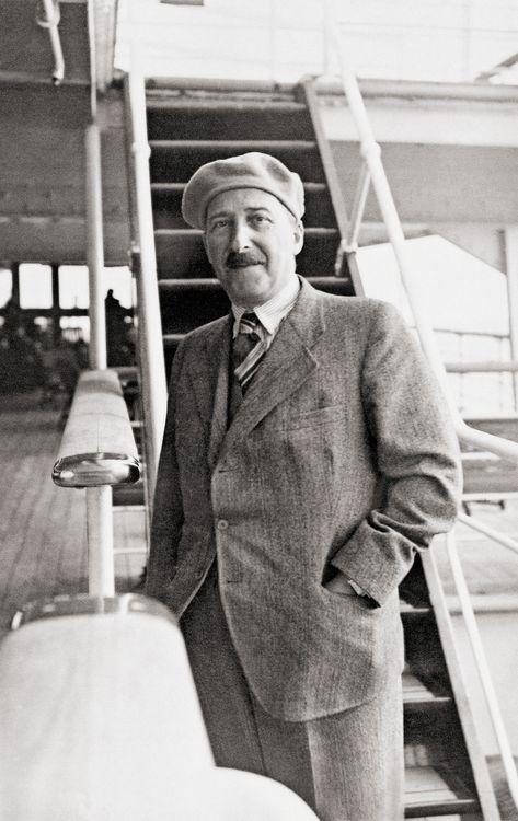 Stefan Zweig Auf Seiner Ersten Brasiliensreise 1936 C Stefan