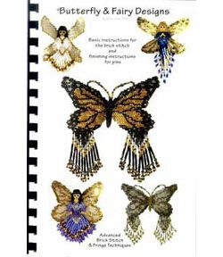 Sova-Enterprises.com Black Friday Specials! Don't miss out! Currently 50% off SALE - Butterfly and Fairy Beading Pattern Book by Rita Sova