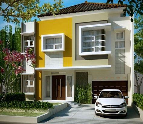 Gambar Desain Rumah Minimalis Yg Bagus  kombinasi warna cat rumah minimalis yang bagus klik