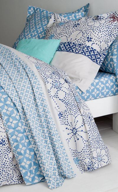 Print Pattern Bedlinen 3 Suisses Duvet Cover Pattern Blue And White Bedding Duvet Covers Uk