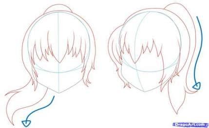Hair Bangs Drawing 26 Best Ideas In 2020 Drawing Hair Tutorial Girl Hair Drawing Manga Hair