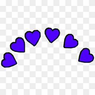 Hearts Heart Emoji Emojis Iphoneemoji Sticker Crown Hd Png Download Emoji Stickers Purple Emoji Pink Heart Emoji