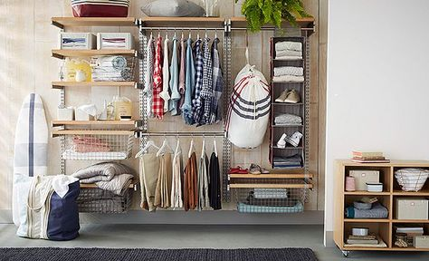 I Love The West Elm Everything In Its Place Closet On Westelm Com Closet System Furniture For Small Spaces Modern Furniture Living Room