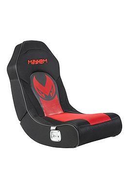 Mayhem Micro 2 0 Floor Rocker Gaming Chair Gaming Chair Fire