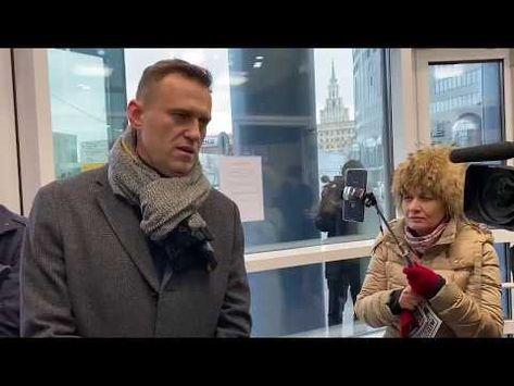Навальный :интервью каналу Россия -1(о Аскер-Заде) - YouTube