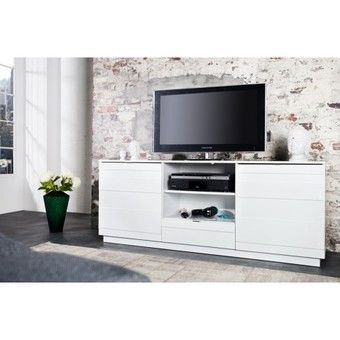 Etonnant Meuble Tv Haut Decoration Francaise