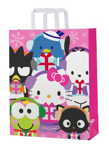 Sanrio Hello Kitty 2012 Holiday Paper Shopping Bags